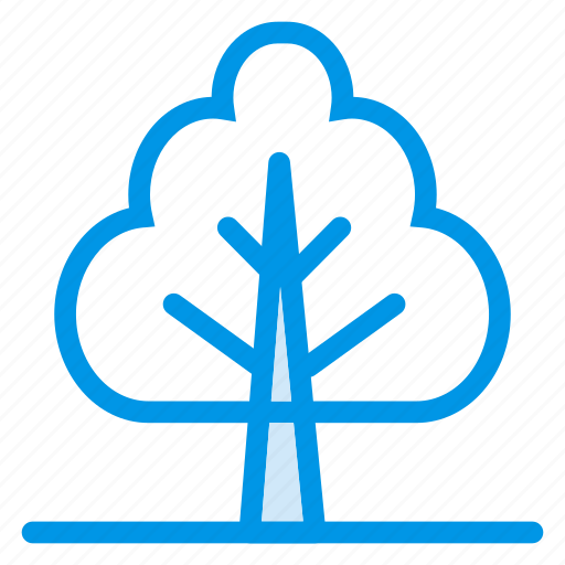 forest, garden, island, nature, park, plant, tree icon