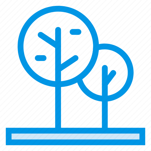 forest, garden, island, jungle, nature, park, tree icon