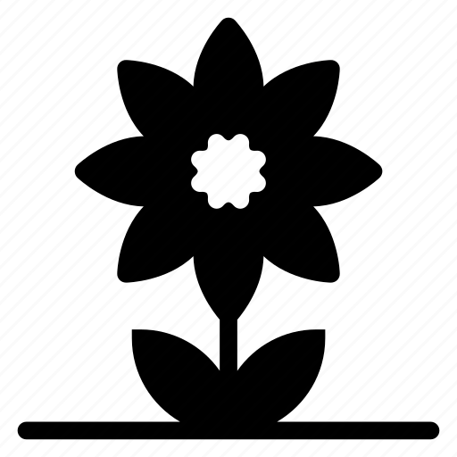 flower, garden, green, nature, park, plant, spring icon