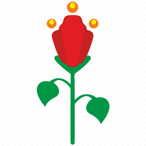 bud, flower, grow, plant, rose icon
