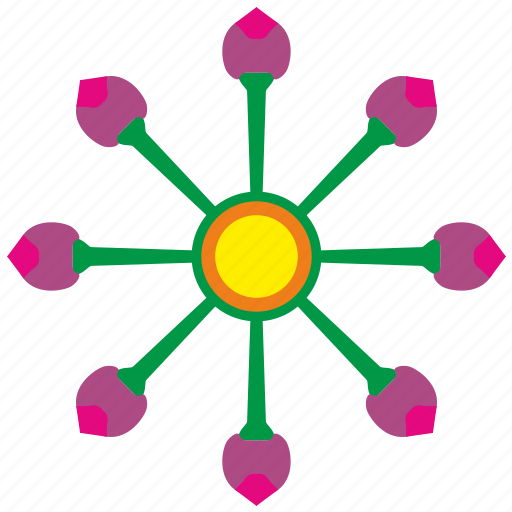 body, bud, flower, grow, nature, plant icon