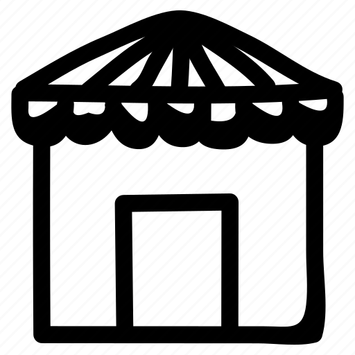 building, estate, home, hotel, house, object, property icon