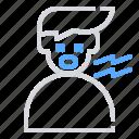 health, hospital, tired icon