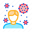 health, human, medical, microbe icon