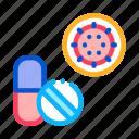 hospital, medical, medicine, pills, virus