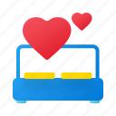 bed, valentine, valentine day, weeding, romance, couple, bedroom