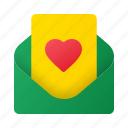 envelop, invitation, wedding, love, letter, message