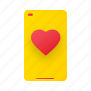smartphone, mobile, love chat, love talk, device, phone, gadget