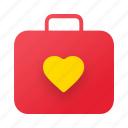 briefcase, valentine, love, valentine day, weeding, honeymoon, romance