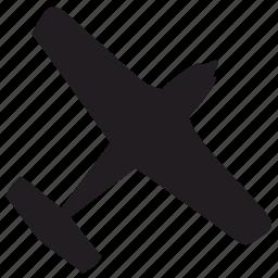 aeroplane, air, fly, plane icon