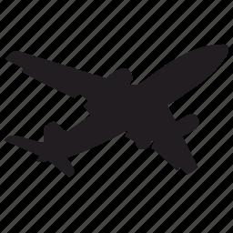 aero, aeroplane, air, airbus, fly, plane icon