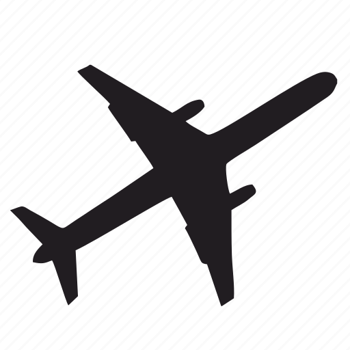 aeroplane, air, airbus, fly, plane icon