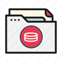 banking, document, file, folder, money icon
