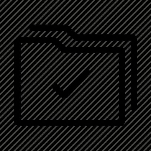 document, folder, office, ok icon