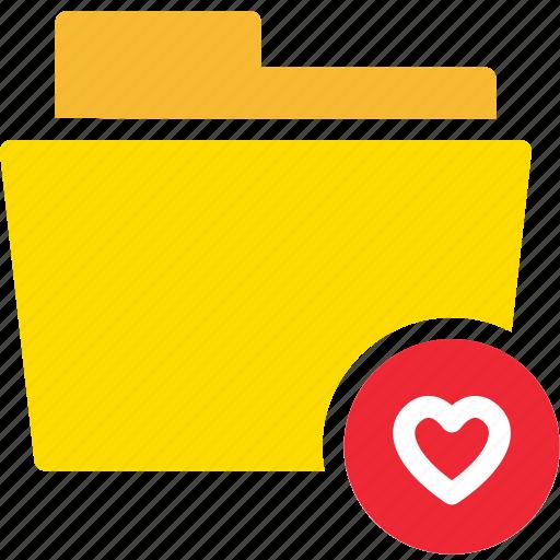 data, document, favourite, file, folder, heart icon