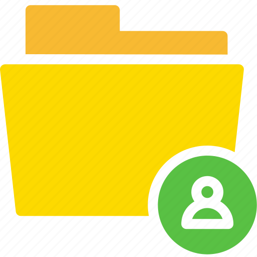 contact, data, document, file, folder, user icon