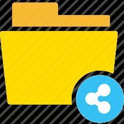 data, document, file, folder, share, shared, social media icon