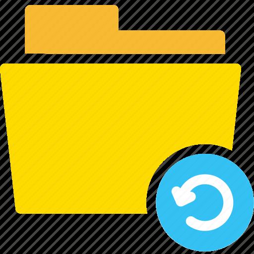 data, document, file, folder, refresh icon