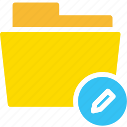 data, document, edit, file, folder icon