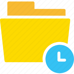 data, document, file, folder, time icon