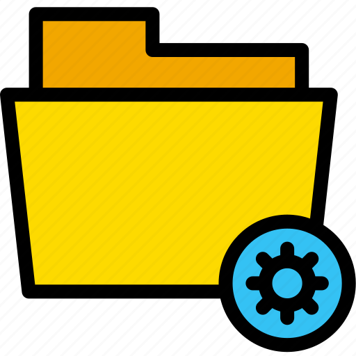 data, document, file, folder, setting icon