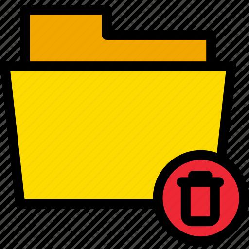 bin, data, delete, document, file, folder, trash icon