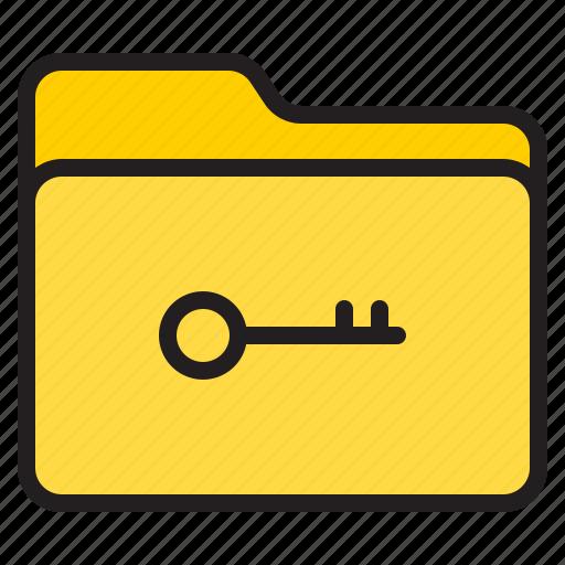 doc, document, file, folder, key icon