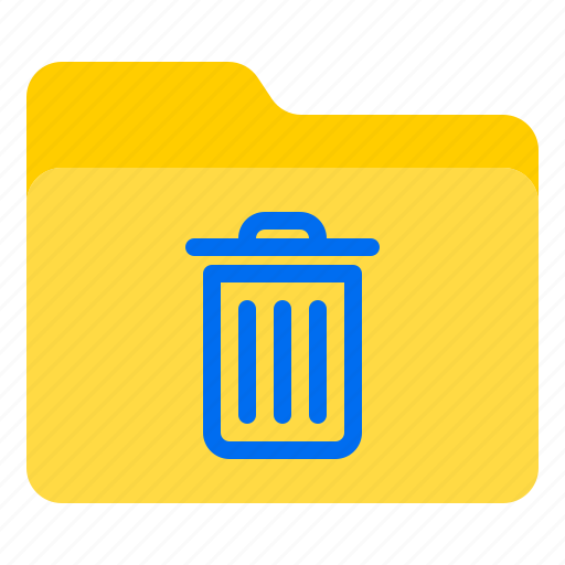 bin, doc, document, file, folder icon