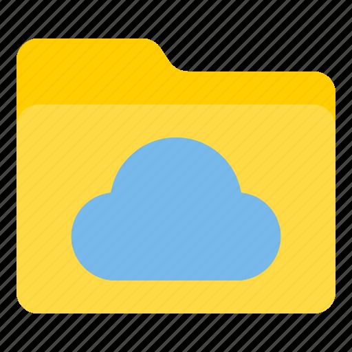 cloud, doc, document, file, folder icon