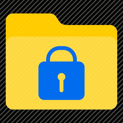 doc, document, file, folder, lock icon