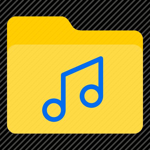 doc, document, file, folder, music icon
