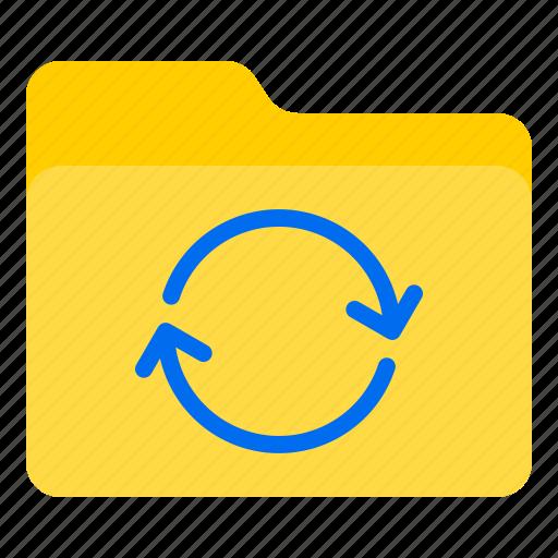 doc, document, file, folder, refresh icon