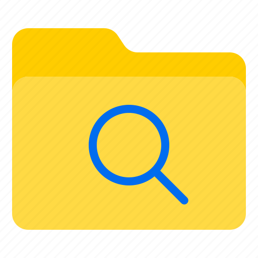 doc, document, file, folder, search icon