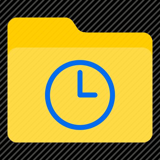 doc, document, file, folder, time icon