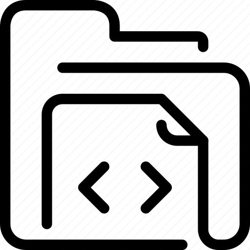 code, coding, development, document, file, folder icon