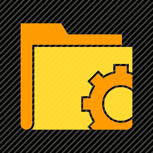archive, archive file, data, file, folder, setting, storage icon