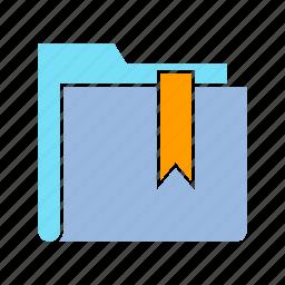 archive, bookmark, favorite, file, folder, info, storage icon