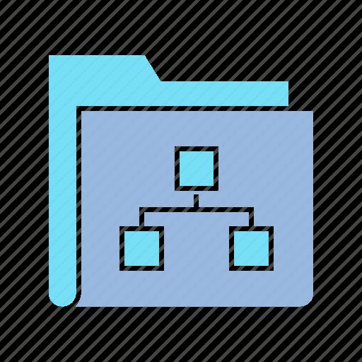 archive, data, diagram, file, folder, info, storage icon
