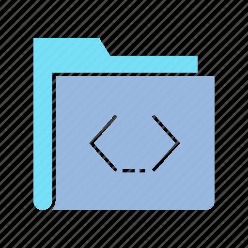 archive, coding, data, file, folder, info, storage icon