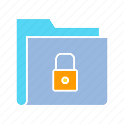 file, file security, folder, key, lock, privacy, security icon