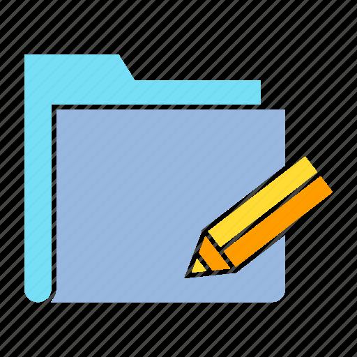 archive file, data, edit, file, folder, storage, writing icon