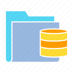 archive file, data storage, database, file, folder, info, storage icon