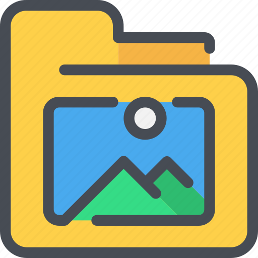 archive, document, file, folder, photo icon