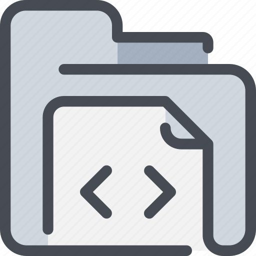 archive, code, development, document, file, folder icon