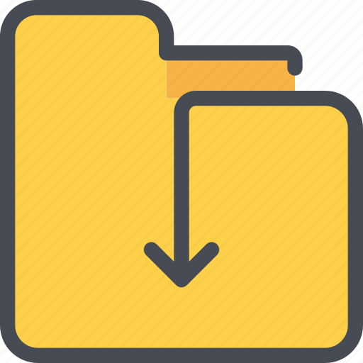 Archive, arrow, document, file, folder icon - Download on Iconfinder