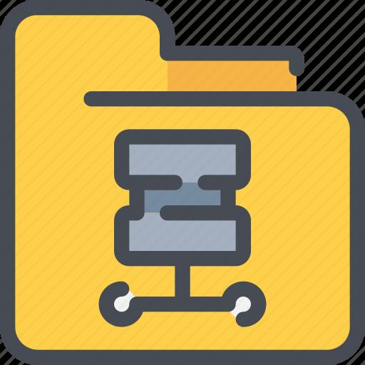archive, database, document, file, folder, server icon