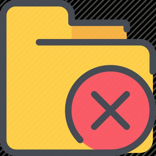 archive, document, file, folder, remove icon