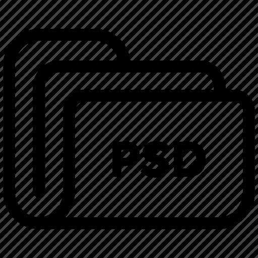 document, file, files, folder, psd, storage icon