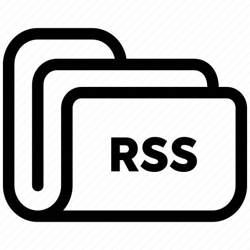 document, file, folder, rss, storage icon