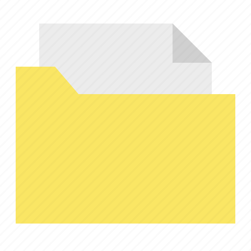 document, file, folder, sheet, ui icon